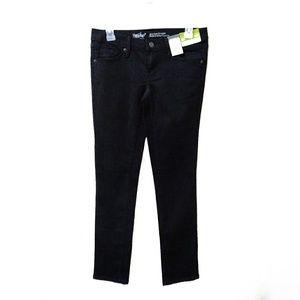 NWT. Mossimo indigo wash mid-rise straight jeans